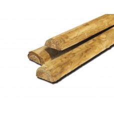 Demi rondin de bois
