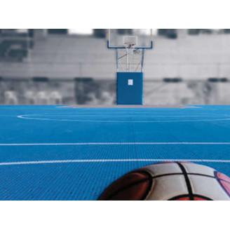 Création et rénovation de terrains de basket trés facilement