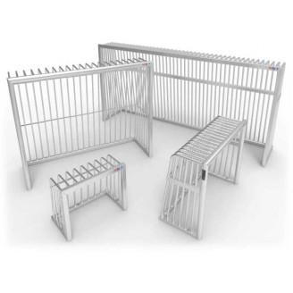 Cage de foot très résistante, légère fabriqué en aluminium