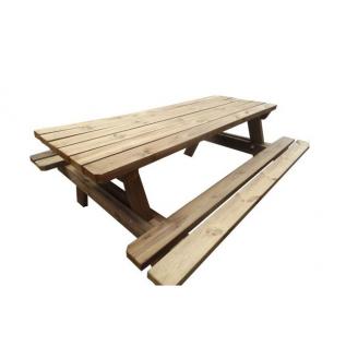 Table en bois pour espaces de détente