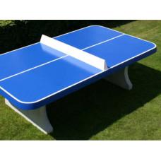 Table Ping Pong Béton Bords Arrondis