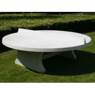Table Ping Pong ronde en béton