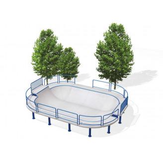 Installer facilement un bowl pour le skate, roller,BMX et trottinette